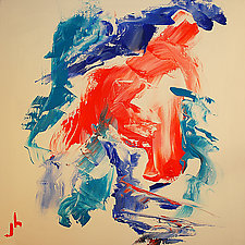 Play of Fancy by Jerry Hardesty (Acrylic Painting)