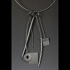 Tribal 2 by Caroline Viene (Silver Necklace)