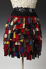 Fringe Cashmere Skirt by Cathy Ridge  (Cashmere Skirt)