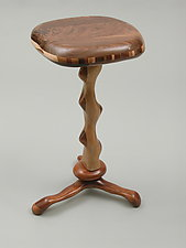 Small Table #4 by Charles Adams (Wood Side Table)