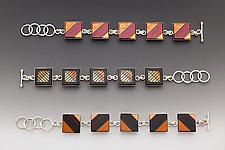 Link Bracelets by Martha Collins (Wood Bracelet)