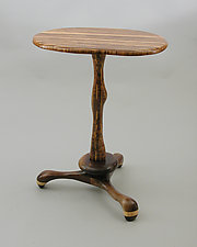 Table 15 by Charles Adams (Wood Side Table)