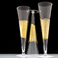 Flutes by Dan Mirer (Art Glass Drinkware)