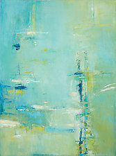 Abstract Oil Painting by Lela Kay (Oil Painting)