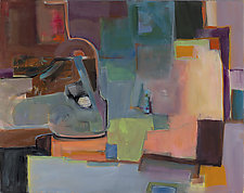 Owed to Picasso's 3 Musicians by Carole Guthrie (Giclee Print)