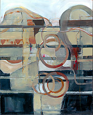 Southwest Deco by Carole Guthrie (Acrylic Painting)