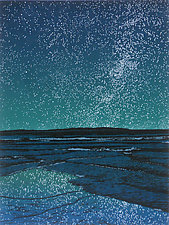 Island Universe by William Hays (Linocut Print)
