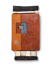 Tile Shard 1 by Rhonda Cearlock (Ceramic Wall Sculpture)
