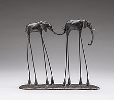 Marty and Nancy by Sandy Graves (Bronze Sculpture)