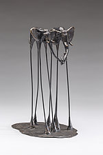 Bob and Mary by Sandy Graves (Metal Sculpture)
