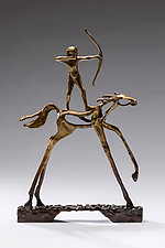 Persistence by Sandy Graves (Bronze Sculpture)