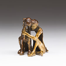 Big Hug by Sandy Graves (Bronze Sculpture)
