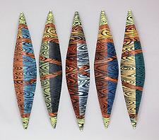 Watermark by Liza  Halvorsen (Ceramic Wall Sculpture)