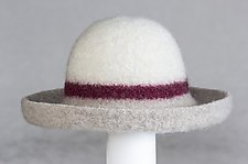 Striped Hat by Tess McGuire  (Wool Hat)
