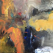 Opus XVIII by Ron Reams (Acrylic Painting)