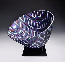 Petit Four Vessel by Helen Rudy  (Art Glass Vessel)