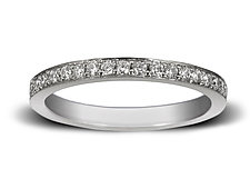 2mm Diamond Pave Band by Claudia Endler (Gold & Stone Wedding Band)