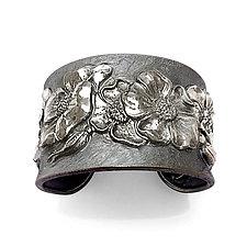 Fiori Cuff Bracelet by Davide Bigazzi (Silver Bracelet)