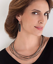 Saturn Zipper Necklace by Kate Cusack (Zippered Necklace)