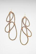 Leaf Zipper Earrings by Kate Cusack (Zipper Earrings)