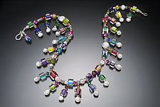 Karma Pearl Fiesta Necklace by Ricky Bernstein (Beaded Necklace)