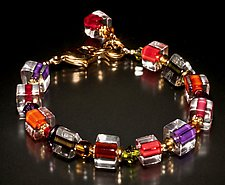 Jumble Autumn Bracelet by Ricky Bernstein (Beaded Bracelet)