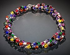 Jumble Pearl Triple Strand by Ricky Bernstein (Beaded Necklace)