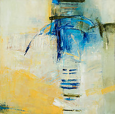 Song Sung Blue by Lela Kay (Oil Painting)