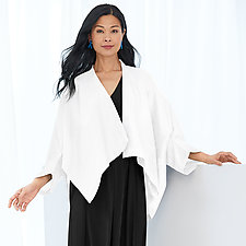 Linen Butterfly Jacket by Planet   (Linen Jacket)