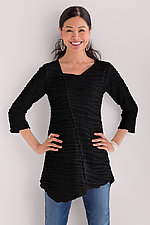 Fiore Asymmetrical Tunic by Carol Turner  (Knit Tunic)