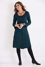 Fiore Asymmetrical Dress by Carol Turner  (Knit Dress)