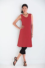 Fiore Flared Tank Dress by Carol Turner  (Knit Dress)
