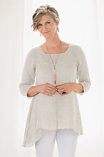 Delphine Tunic by Carol Turner  (Linen Tunic)
