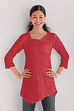 Fiore Asymmetrical Tunic by Carol Turner (Knit Tunic)