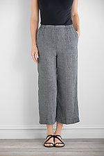 Easy Crop Pant by Carol Turner  (Linen Pant)