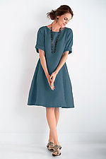Cordelia Dress by Carol Turner  (Linen Dress)