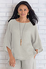 Ibiza Top by Carol Turner  (Linen Top)