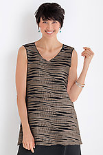 Fiore Tunic Tank by Carol Turner (Knit Top)