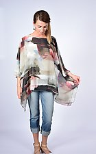 Desert Shadow Sheer Square by Carol Turner  (Woven Top)