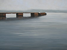 Chicago Bay by Mary Jo Van Dell (Giclee Print)