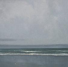 Abbotts Lagoon by Mary Jo Van Dell (Oil Painting)