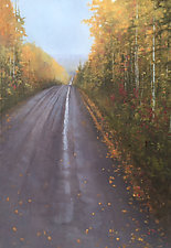 Gone by Mary Jo Van Dell (Oil Painting)