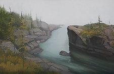Tobin Harbor II by Mary Jo Van Dell (Oil Painting)