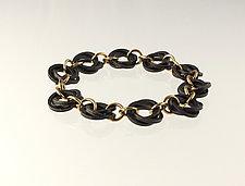 King Snake Bracelet by Edith Schneider (Gold & Silver Bracelet)