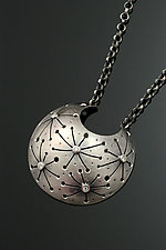 Starry Night Necklace by Sooyoung Kim (Silver & Stone Necklace)