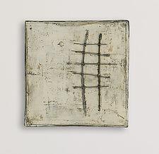 Twelve by Lori Katz (Ceramic Wall Sculpture)
