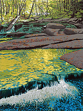 Stickneybrook by William Hays (Linocut Print)