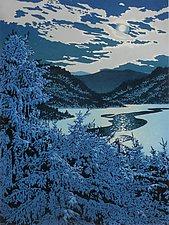 Moonlight Lead by William Hays (Linocut Print)