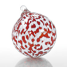Holiday Cheer by Kevin Boyce (Art Glass Ornament)