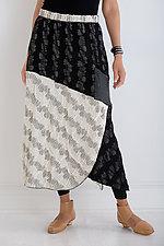 Sgraffito Skirt by Noblu   (Knit Skirt)